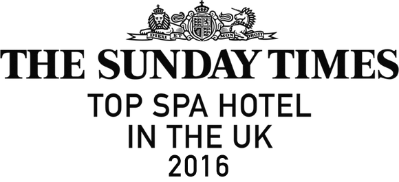 The Sunday Times - Top spa hotel in the UK 2016.